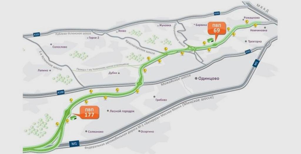 Карта Объездной Дороги Вышний Волочек